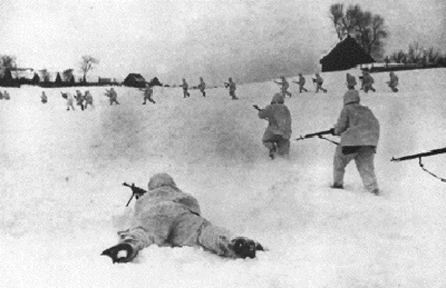 Soviet troops begin an offensive to liberate Crimea.