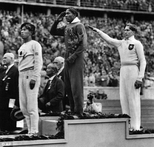 Berlin Olympic  Games 1 - 16 August 1936 (Mr. A)
