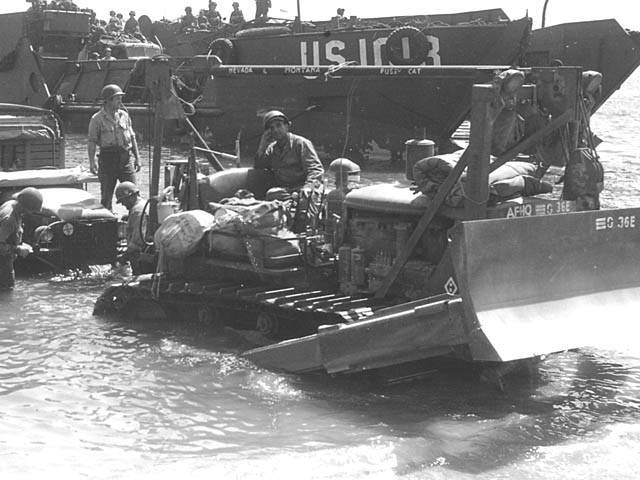 Operation Dragoon begins (the Allied invasion of Southern France).