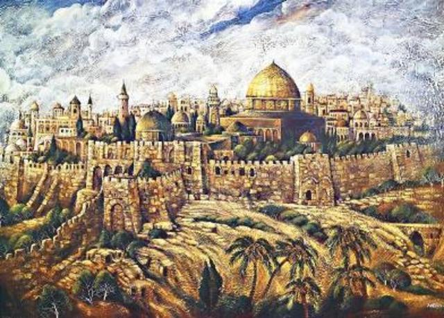Jerusalem captured by Muslims
