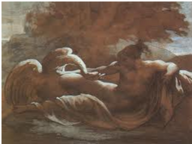 Leda and the Swan (Gericault)