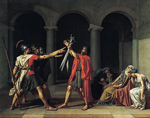Oath of Horatii (David)