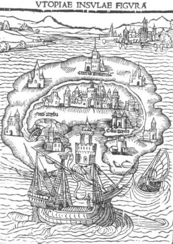 Utopia written by Thomas More