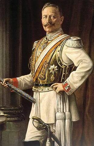 Kaiser Wilhelm II changes foreign policy, forced Bismarck to resign.