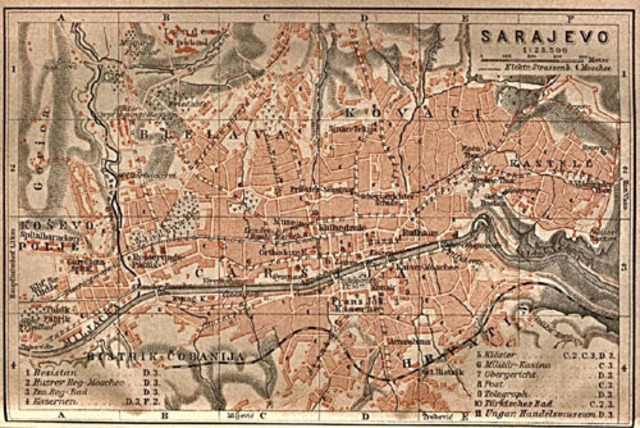 Austria presented Serbia with the Ultimatum.