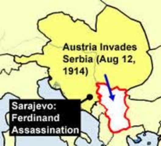 Austria declared war on Serbia. Russia also ordered mobilization toward the Austrian border.