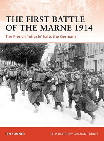 The Allies attack Germany at the 1st Battle of the Marne