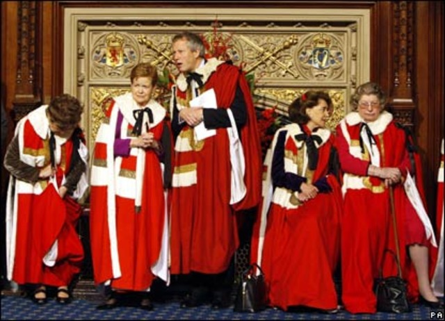 House of Lords looses veto