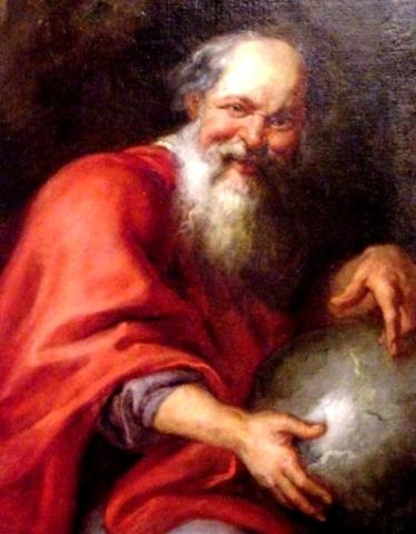 Atomismo de Democrito (370 a.c.)