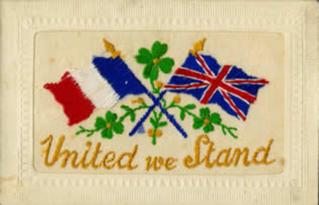 Britain formed entente alliance with France.