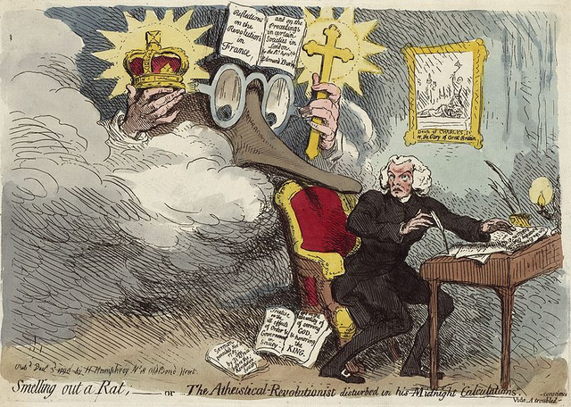 Smelling Out A Rat (Gillray)
