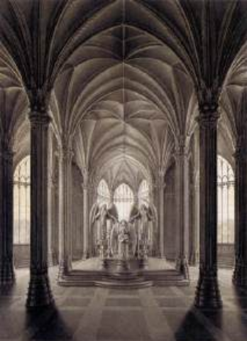 Study for a Monument to Queen Luise (Schinkel)
