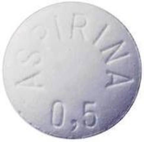 Se sintetiza el ácido acetíl salicilico.
