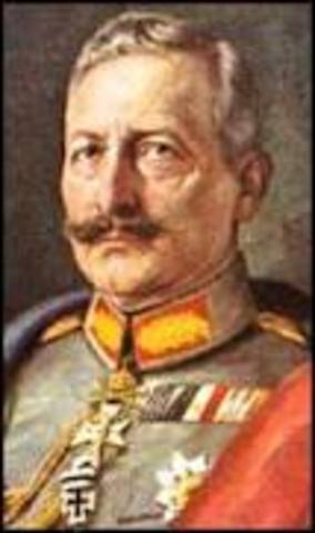 Kaiser Wilhelm stepped down from power, Germany declared itself a republic.