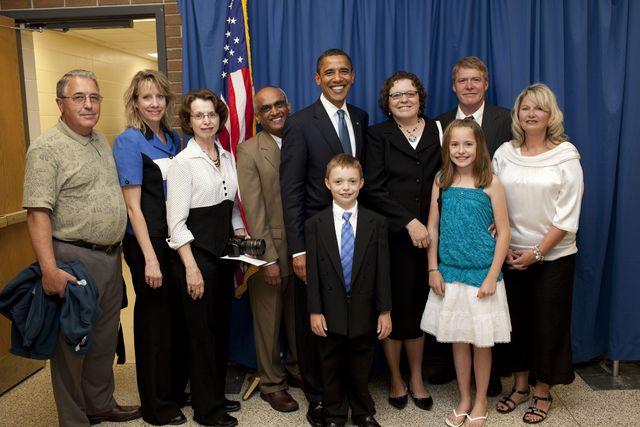 Met Barack Obama