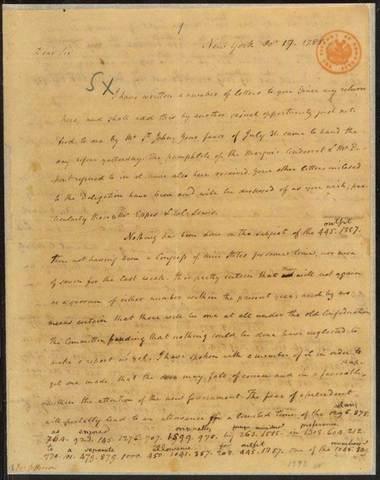 James Madison's Letter