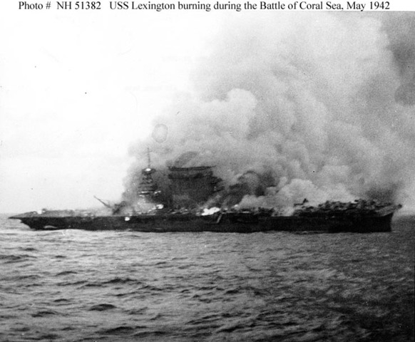 United States wins the Battle of the Coral Sea.