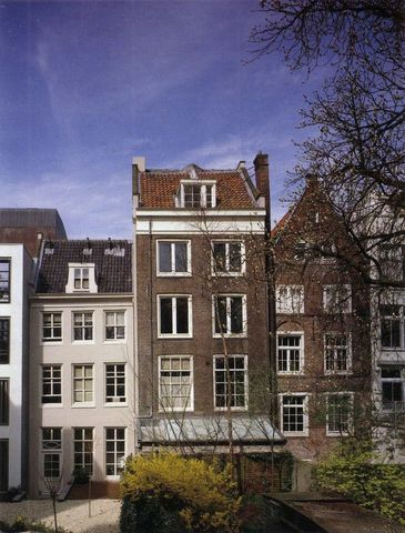 Anne Frank House opened