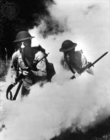 Britian uses Poison Gas