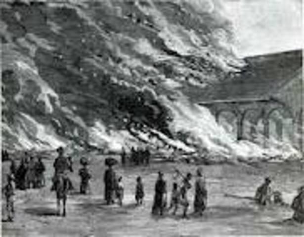 Sherman Burns Atlanta – November 15, 1864