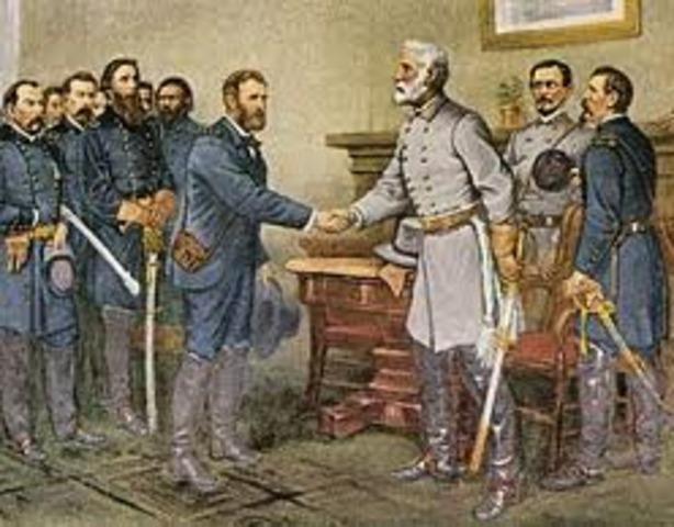 Lee surrenders