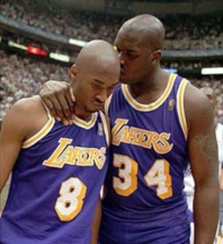 Kobe and Shaq!