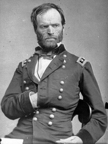 Sherman at the Sea