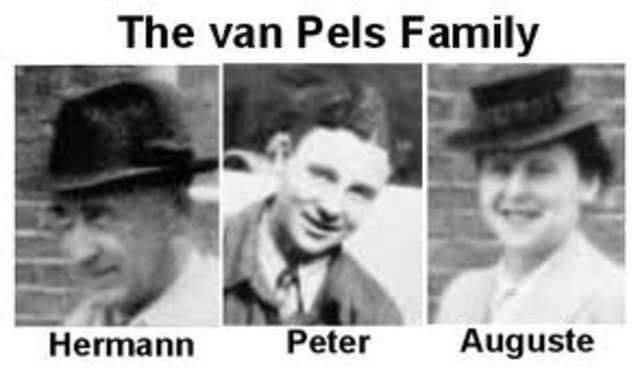 van Pels join the secret annex