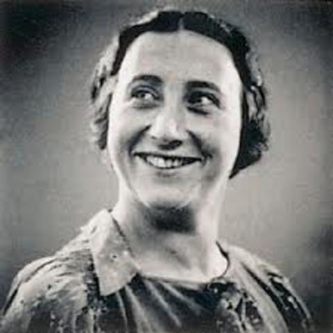 Edith Frank dies
