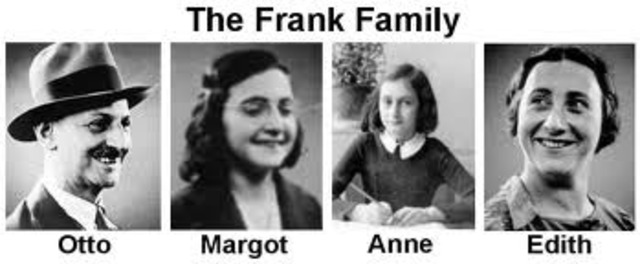 Otto Frank receives letter