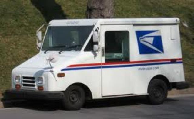 Postal Service launches a public internet site.