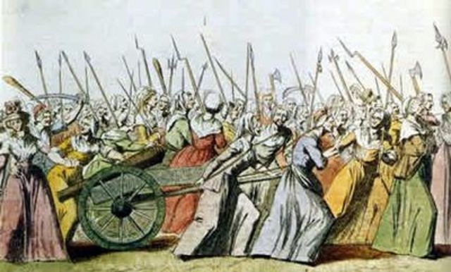 Womens march to Versailles