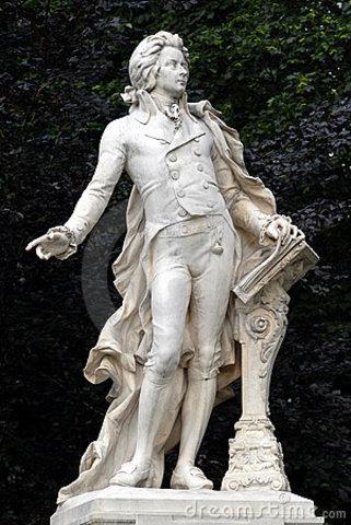 Arribada de Mozart a Viena