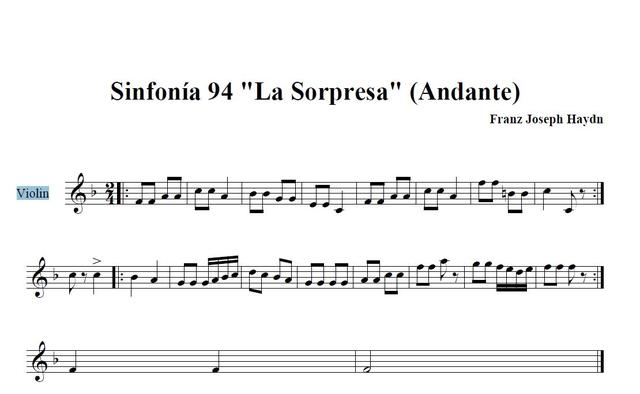 Simfonia La Sorpresa de Haydn