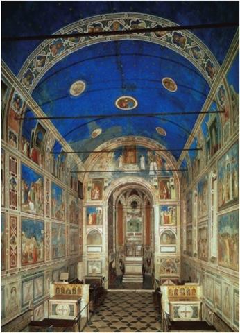 Scrovegni (Arena) Chapel in Padua, Italy - Giotto