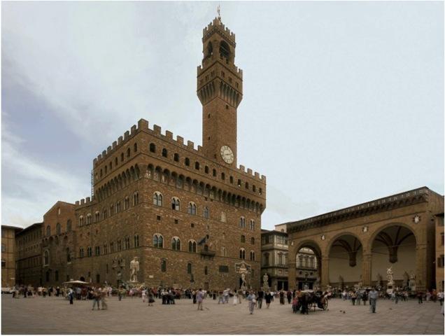 Piazza Della Signoria with Palazzo Della Signoria
