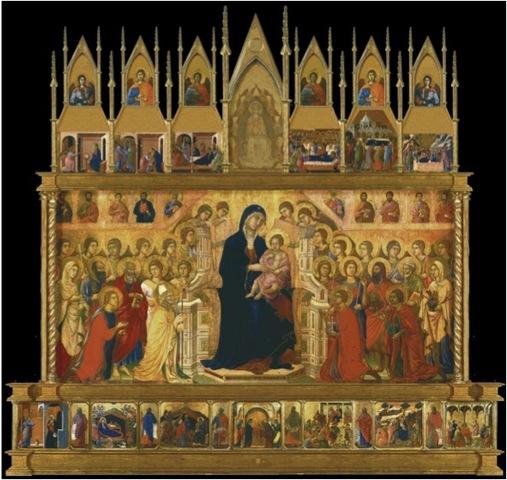The Maesta Altarpiece (front) - Duccio