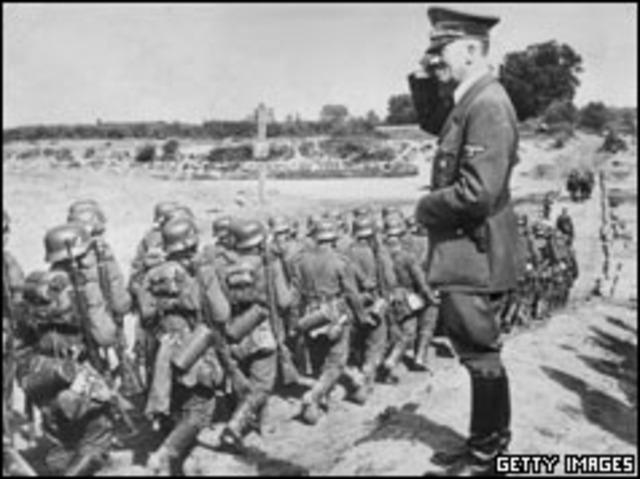 Hitler attacks Poland