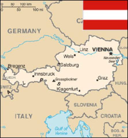 Hitler Seizes Austria
