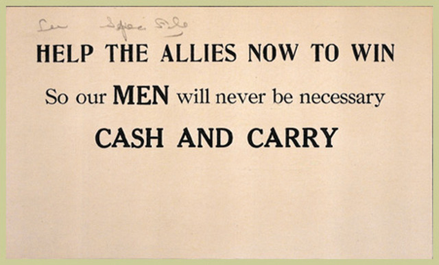 U.S. Neutrality Act of 1939