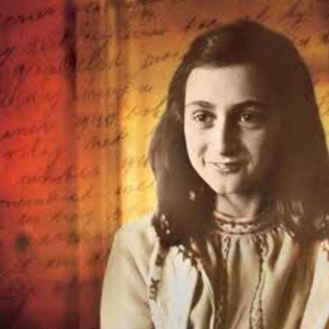 "Annelies Marie ""Anne"" Frank is born"