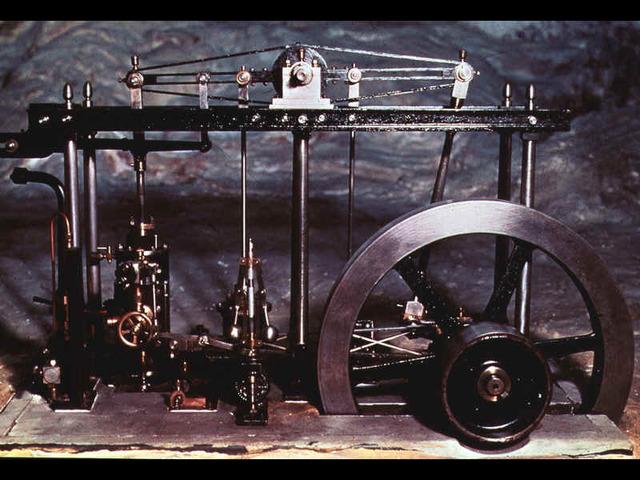 """Máquina de vapor """"Boulton y Watt"""""""