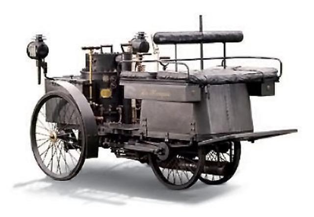 Primer servicio de coches a vapor