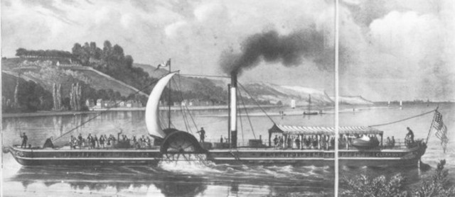 "Primer barco, el ""Clermont"""