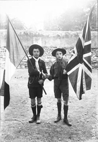 Britian and France Sign the Entente Cordiale