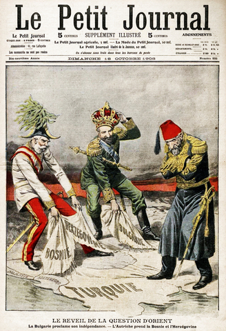 Austria-Hungary Annexes Bosnia-Herzegovina