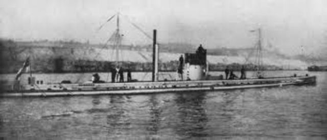 Germany Engages in Unrestricted Submarine Warfare