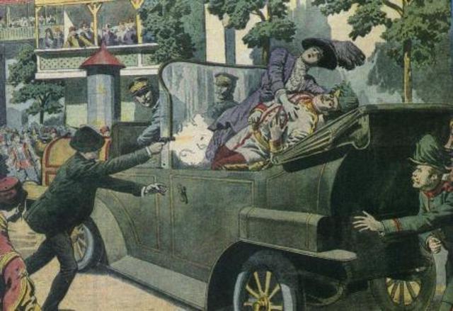 Gavrilo Princip Assasinates Franz and Sophie Ferdinand