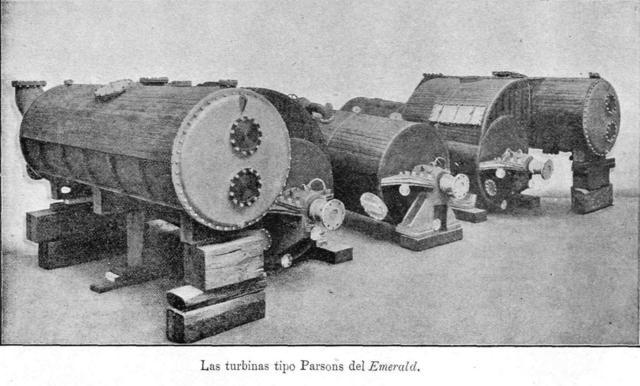 Primera turbina a vapor