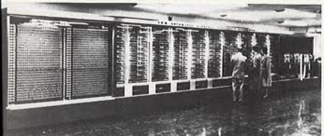 IBM produced Mark 1, a calculator to decipher secret Axis codes